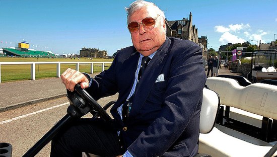 If Peter Alliss wasn't a commentator Cover