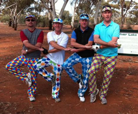 Funny Golf Celebrations Line Dance