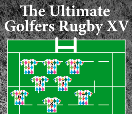 Royal & Awesome Ultimate Golfers Rugby XV Cover