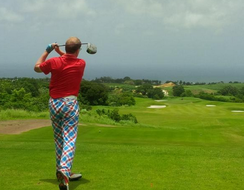 Roger Southam: Crazy Golf Trousers