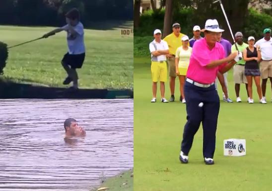 Unlucky Golf Shots: Bright Golf