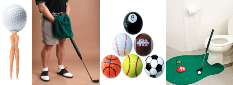 Not so Awesome Golf Gifts