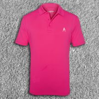 Mens Performance Polo Pink